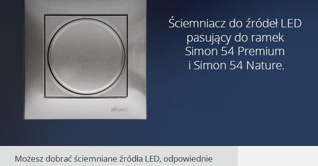 Ściemniacz do LED – Simon 54