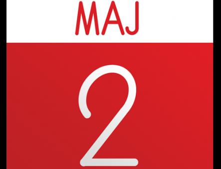 2 maja – dzień wolny