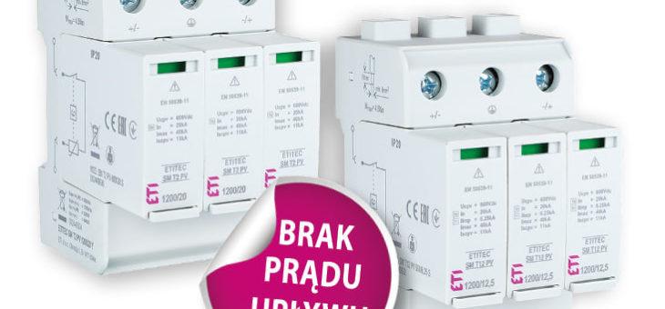Ochrona przeciwprzepięciowa instalacji fotowoltaicznych PV